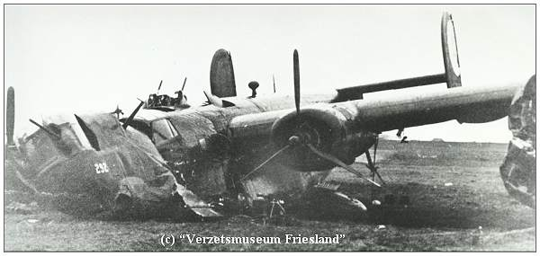 B-24H - #42-7650 at crash location -