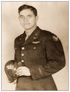 2Lt. Robert L. Stricker - commissioning 1944