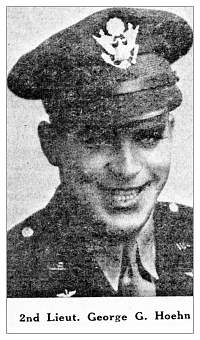 2nd Lt. George Gustav Hoehn