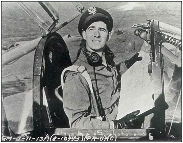 John J. Carroll - cockpit - Aug/Oct 1943