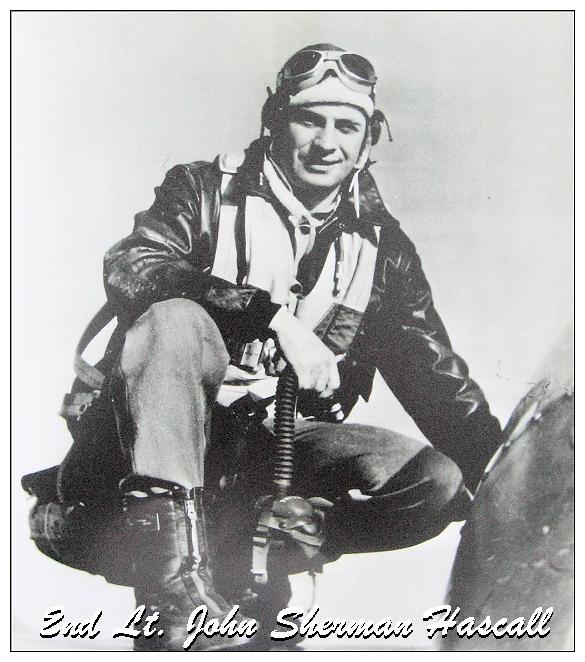 O-746103 - 2nd Lt. John Sherman Hascall -
