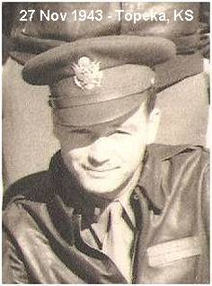 2nd Lt. Joseph 'Joe' Andrew Buland Jr. - at Topeka, Kansas - 27 Nov 1943