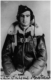 2nd Lt. - Julius J. Monticone - Bombardier - image via Richard Woolderink