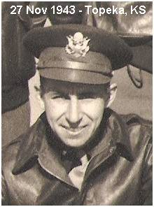 2nd Lt. Warren G. Clifton - at Topeka, Kansas - 27 Nov 1943