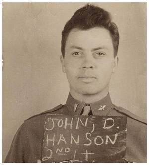 2nd Lt. - John Donald 'Don' Hanson