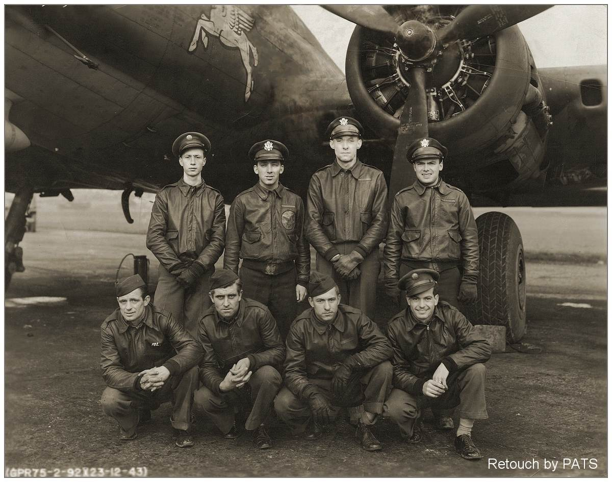 Crew - Capt. McLaughlin - 23 Dec 1943, England