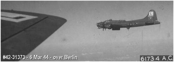 B-17G #42-31373 over Berlin - 6 Mar 1944 -