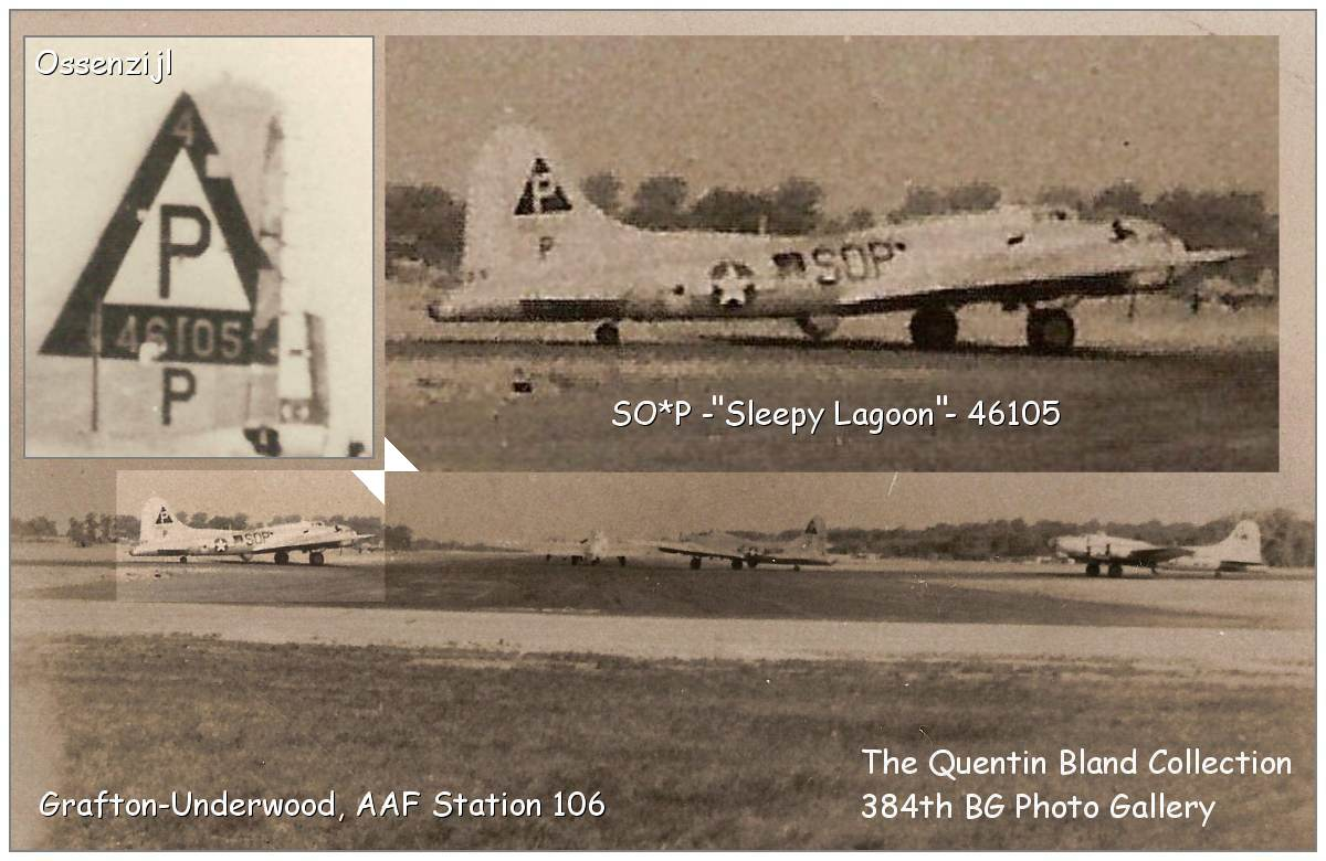 Sleepy Lagoon - The Quentin Bland Collection - 384th BG