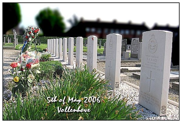 Vollenhove - General Cemetery - 'De Voorst' - May 5th 2006