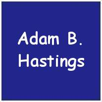 120038 - Pilot Officer - Air Observer - Adam Byers Hastings - RAFVR - Age 24 - KIA