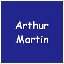 1160427 - Sgt. - Flight Engineer - Arthur Martin - RAFVR - Age 28 - KIA