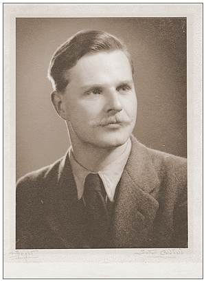 F/Lt. Adrian Godfrey Davies - civil - around 1942