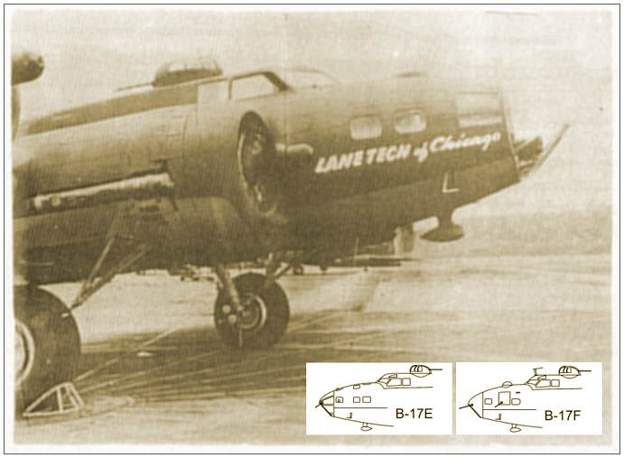 B-17 'LANE TECH of Chicago'