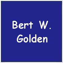179878 - F/O. - Air Gunner - Bert William Golden - DFC - RAFVR - KIA