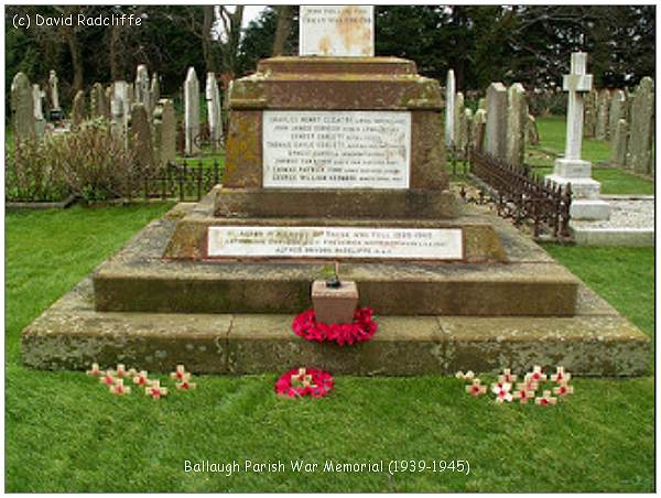 Ballaugh Parish - War Memorial 1939-1945