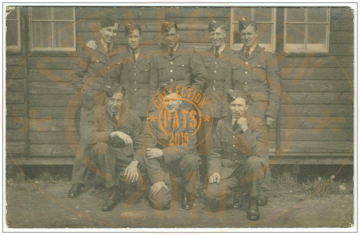 Sgt. Robert 'Bob' Frederick Beioley - with other unknown POW's