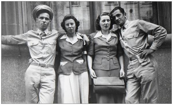 Bogan, Clara, Margaret and Hi - 1942, USA