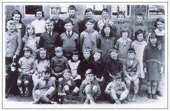 Buildwas - School photo - 1933 - via Mrs. Hill