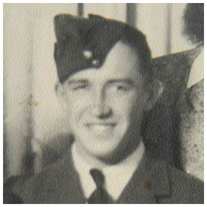 R/78615 - Sgt. - Navigator / Observer - Clarence Albert Hunt - RCAF - POW - interned in Camp 344 POW No. 27034