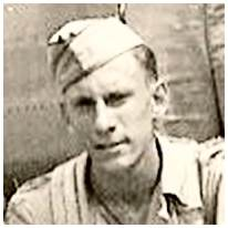 13100446 - T/Sgt. - Radio Operator - Clyde Franklin Hicks Jr. - Berwick, PA - POW