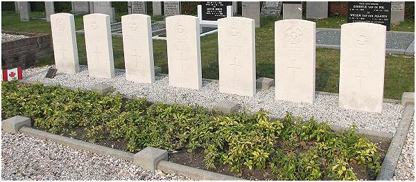7 Commonwealth graves - Doornspijk