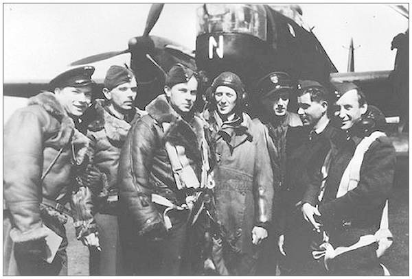 Crew Gusowski - early 1942