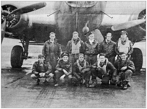 Crew - Virgil H. Jeffries - 423rd - 1943