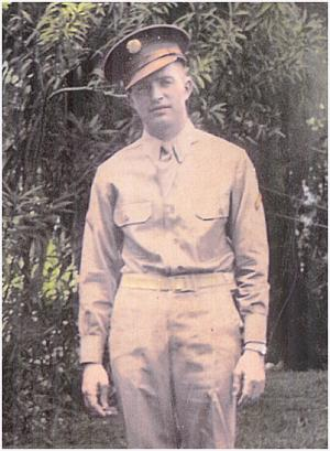 Dale in Air Force uniform