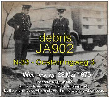Debris found - March 1973 . . . . . It's JA902 - info PATS - 08 Nov 2018