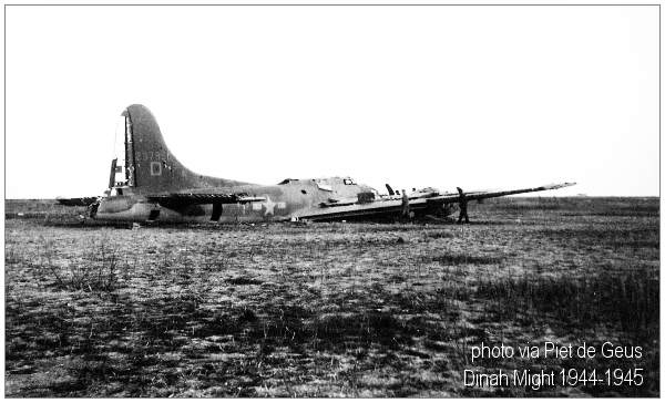 B-17G - 'Dinah Might' - photo taken 1944 - 1945