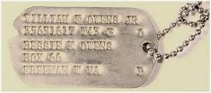 GI Dog Tag - Owens