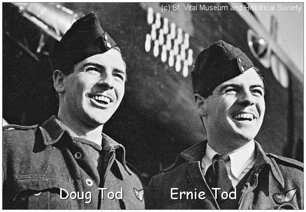 Twins Doug and Ernie Tod - (c) St. Vital Museum and Historical Society
