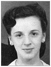 Elizabeth (Elsie) Prosnyck - 1942 - photo as in obituary