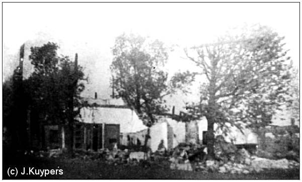 Farm of Haverink after explosion of 28 Apr 1943