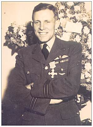 F/Lt. John Gordon Smith - DFC - post war - likely taken in Guatemala