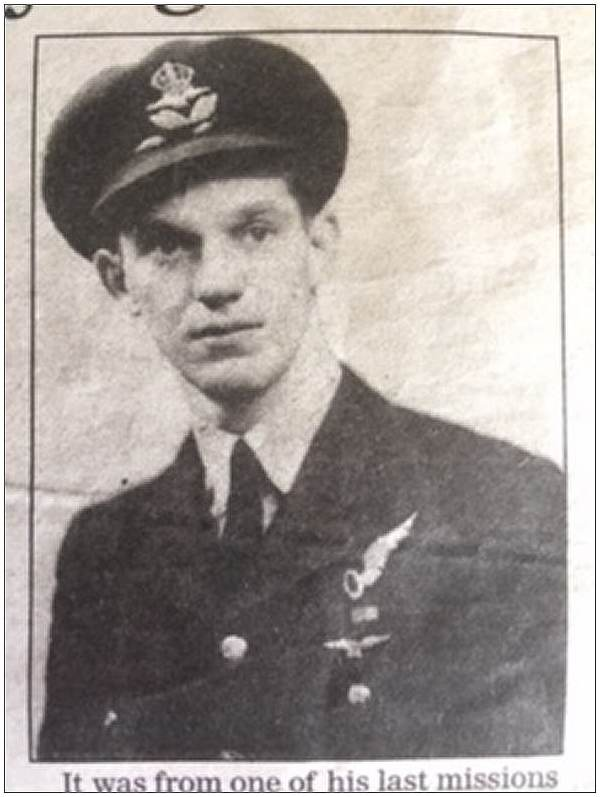 1416957 - 172236 - Navigator - Flt. Lt. - Charles William Reeves - DFC - newsclip 2002