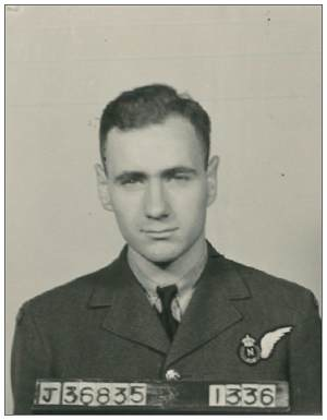 J/36835 - Flying Officer - Navigator - Frederick Arthur Horning - RCAF
