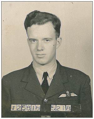 J/25818 - Flying Officer - Pilot - Robert Edward Rennie - RCAF