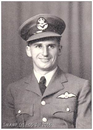 778777 - 80378 - Flying Officer - Pilot - Nicholas James Stanford - RAFVR - courtesy Stanford family - via SMAMF