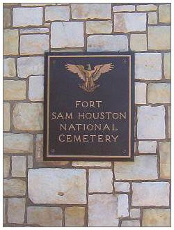 Fort Sam Houston National Cemetery, San Antonio, TX - image by DonZas (†)