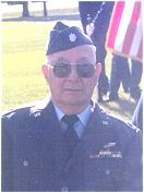 Lt. Col. Fred Lakner - while receiving DFC - 2001