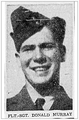 F/Sgt. Donald Murray - Winnipeg Evening Tribune
