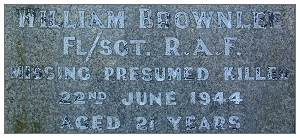 F/Sgt. - William Brownlee - RAFVR