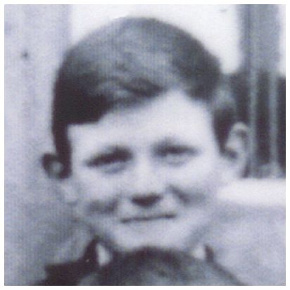 Sgt. Gordon Clarence Jeffreys - School photo - Age 12