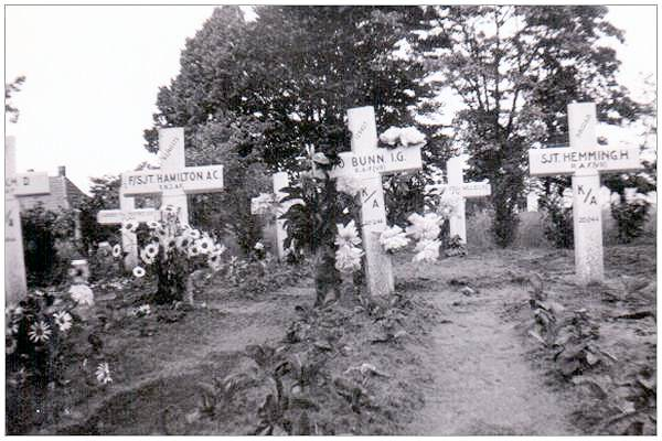Kallenkote War Graves - post war