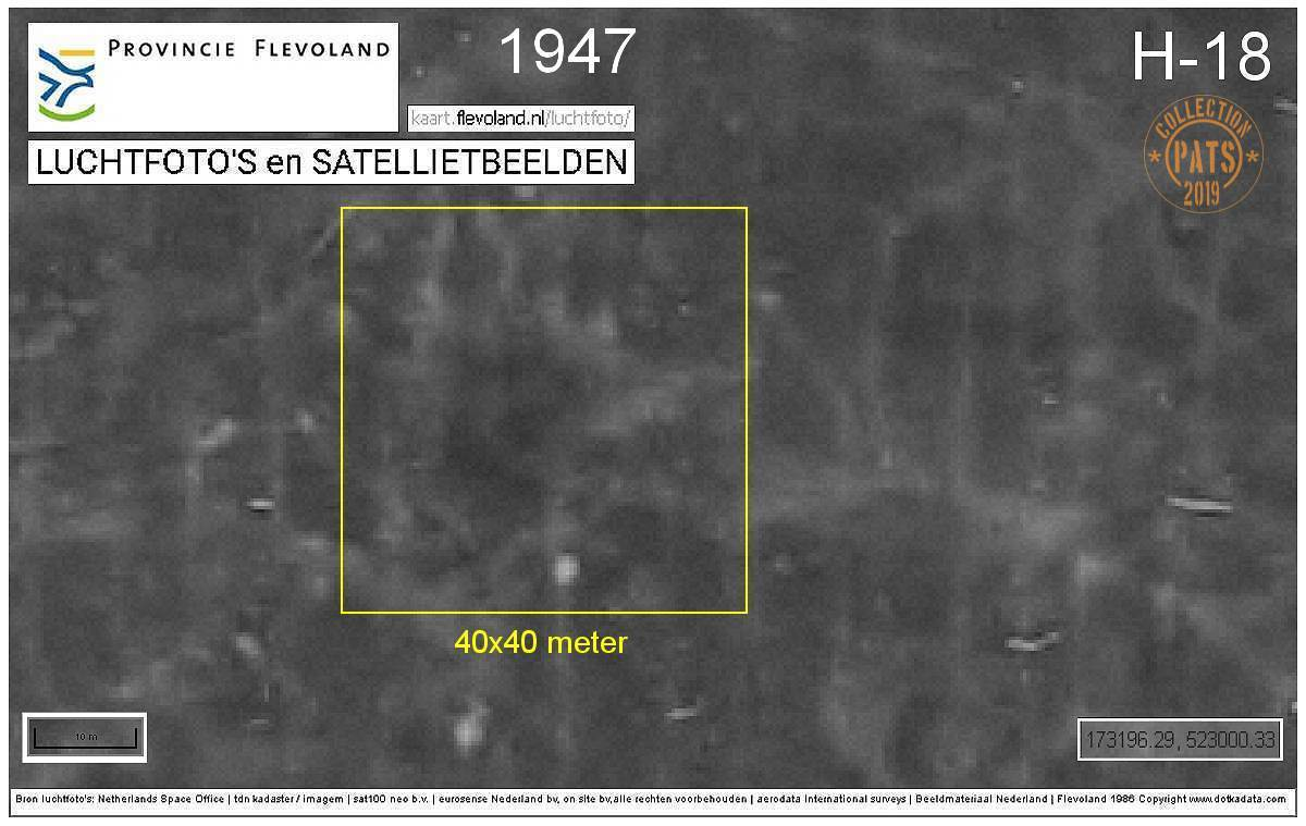 173196.29, 523000.33 - Aerial image of 1947 - (c) DOTKA data