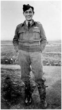 Pilot Officer - Henry Adolphus Echin - RAAF - at Pocklington Airbase