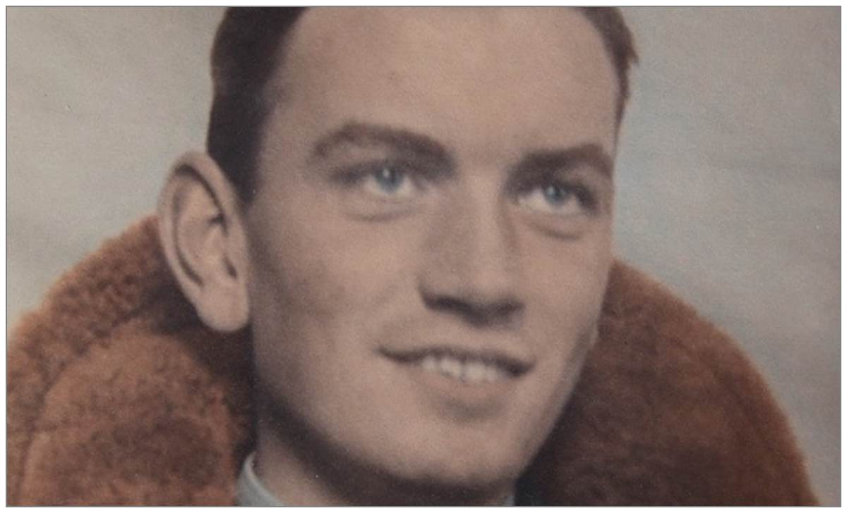 Harry Penny in 1942 when he was serving with the RAF