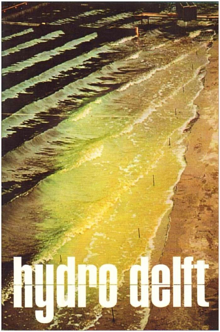 HIJDRO DELFT no. 47 - Dec 1976 - cover - fluorescent in water