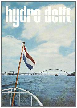 HIJDRO DELFT - no. 1 - oct 1965 - cover -